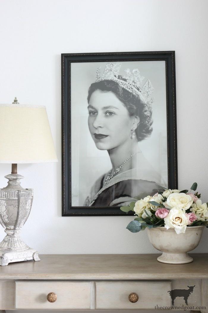 Portrait of Queen Elizabeth
