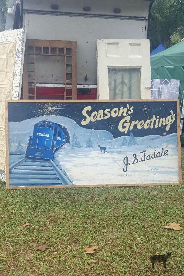 Season Greetings Sign