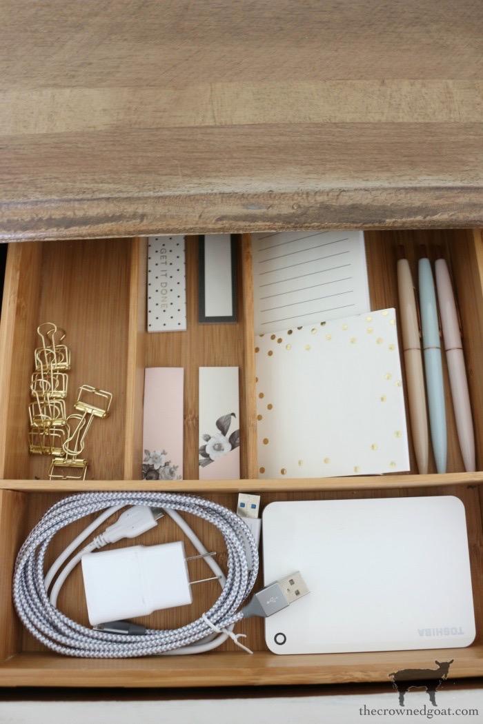 Organizing your desk drawer