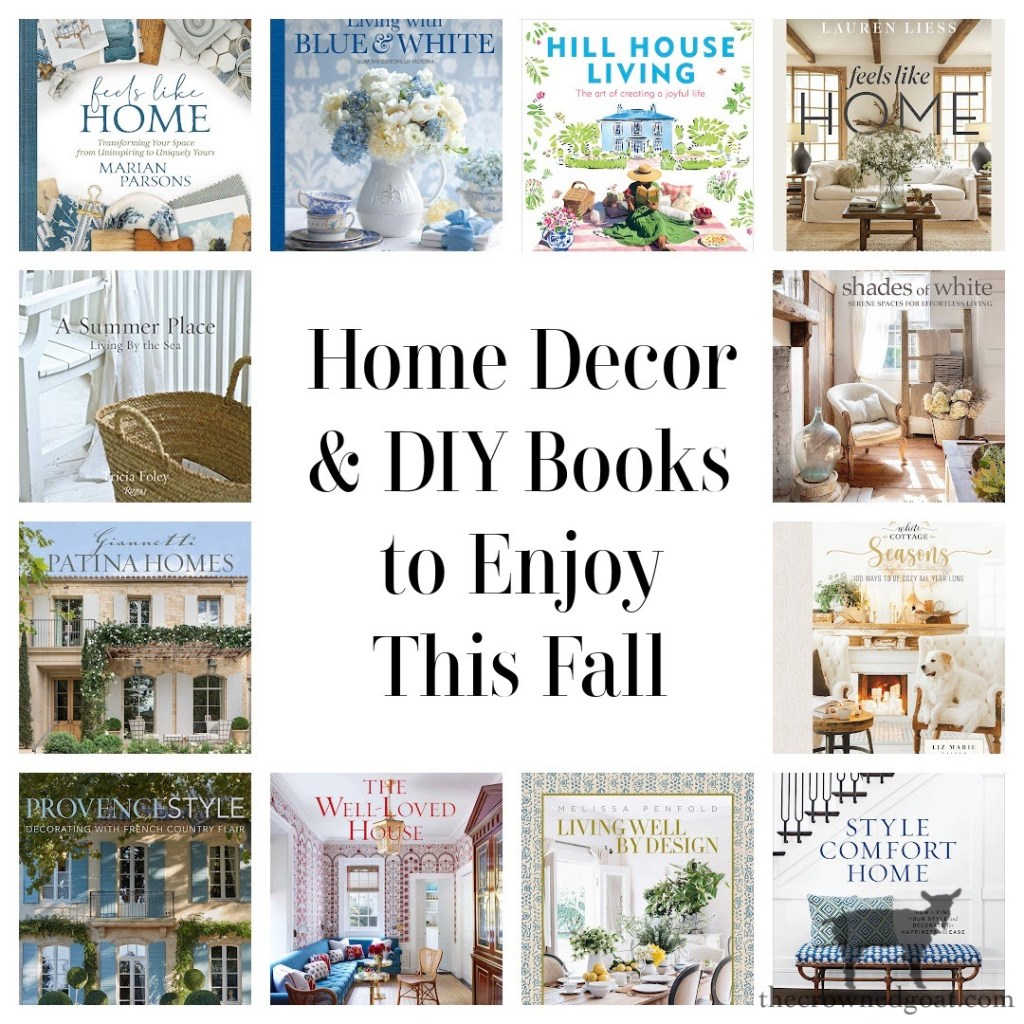 Home Decor and DIY Book to Enjoy This Fall-The Crowned Goat