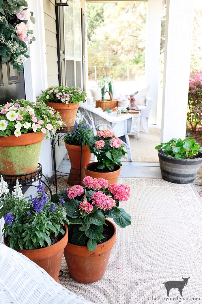 Spring Flowers Porch Tour