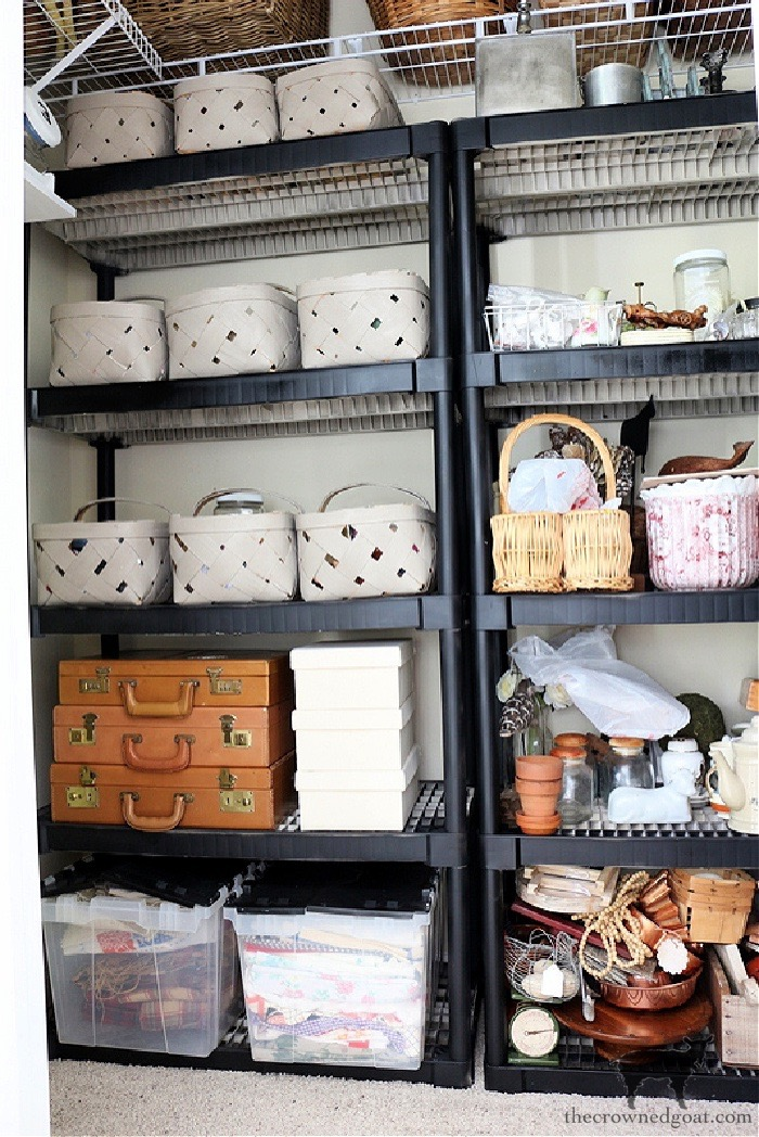 Inventory Closet Organization - The Crowned Goat