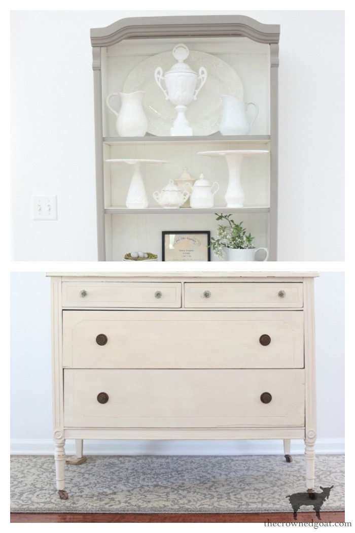 Dresser and Hutch Mock Up - The Crowned Goat