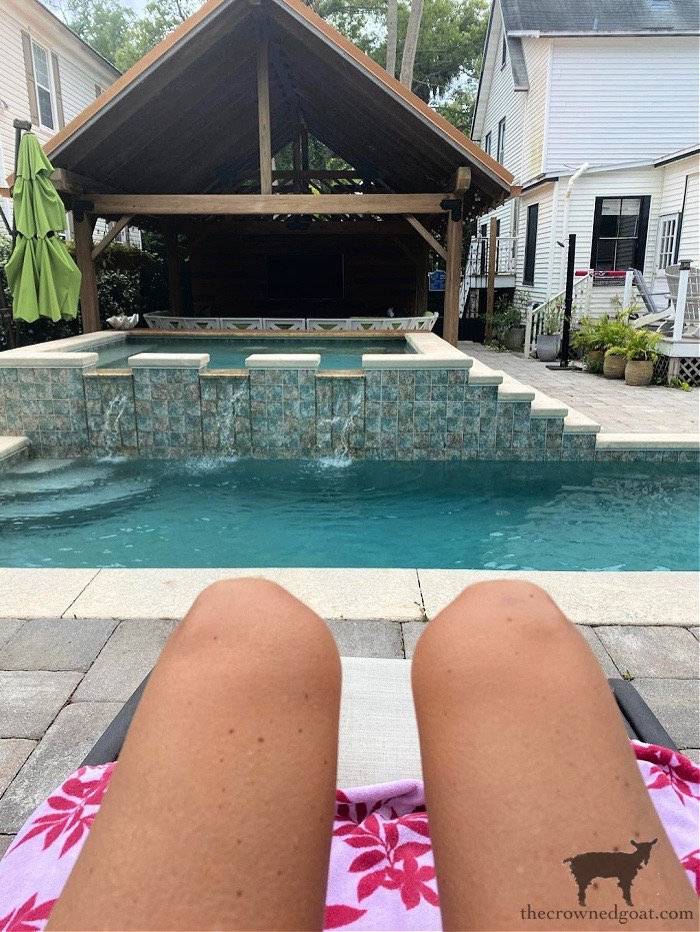 Pool Hang Out and Movie Lodge - The Crowned Goat