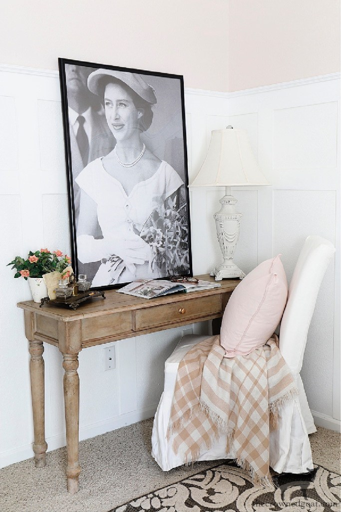 Adding a Desk to the Guest Bedroom-The Crowned Goat