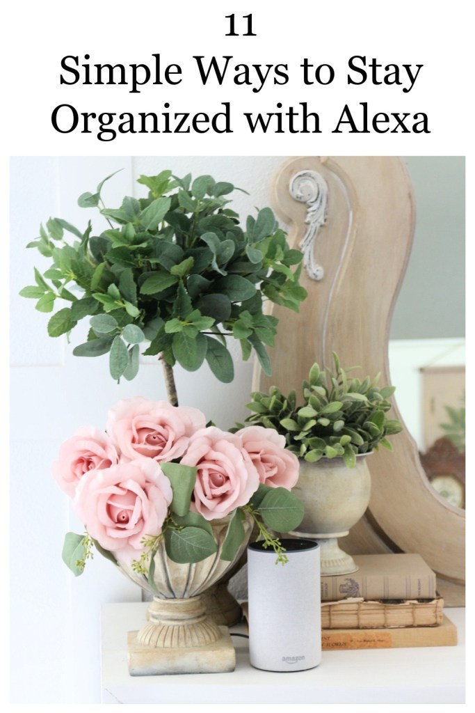 11 Super Simple Ways to Stay Organized with Alexa-The Crowned Goat
