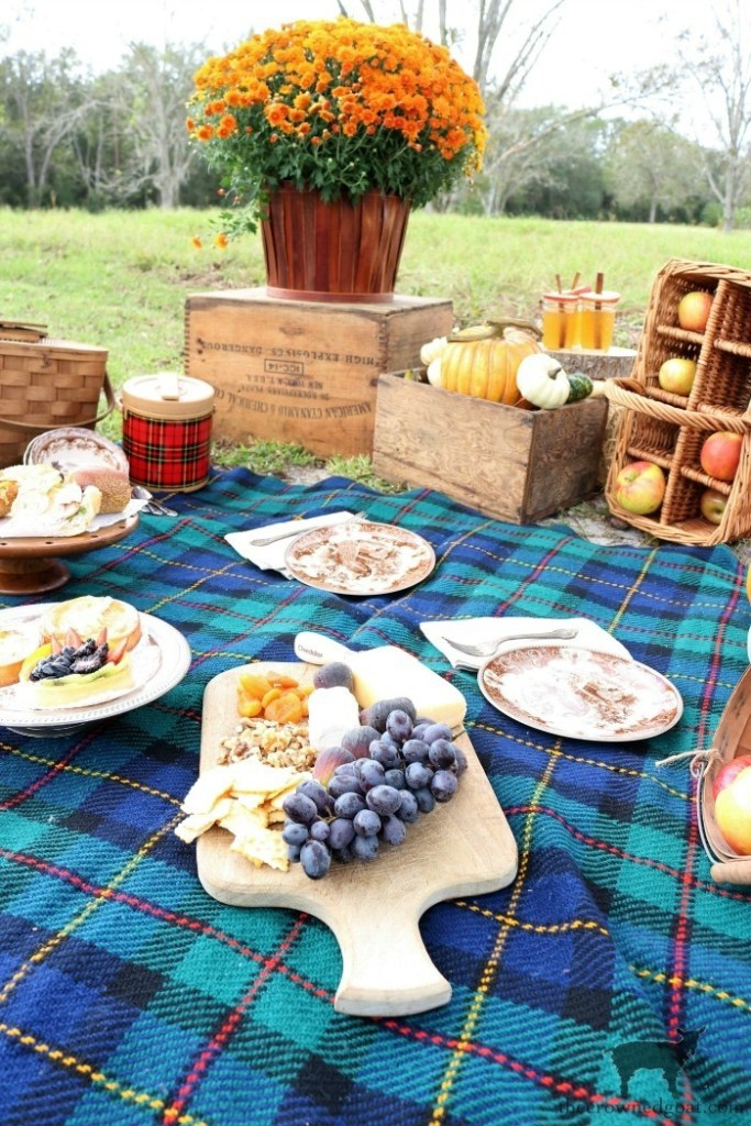 Fall Picnic at the Pecan Grove-The Crowned Goat
