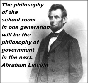 The philosophy upon which we reform education is crucial to have right.