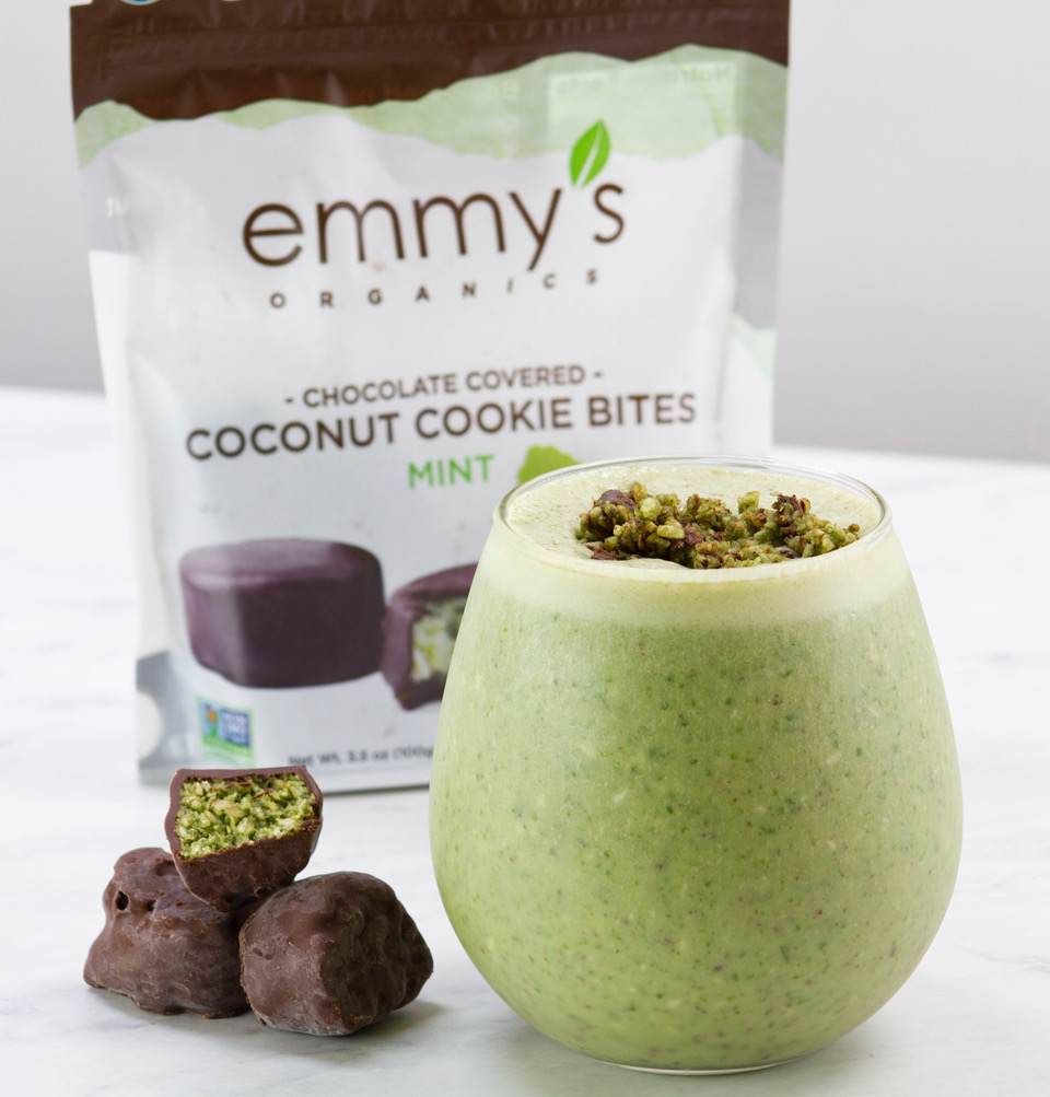Mint Chocolate Cookie Shake