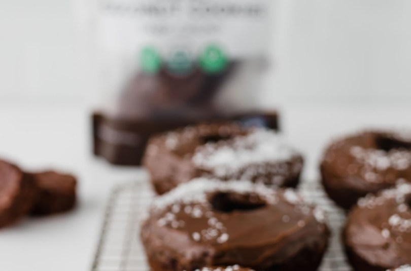 Chocolate Coconut Cookie Donuts 2