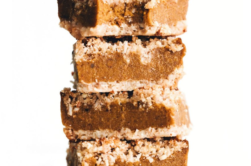 Pumpkin Pie Crumble Bars 9