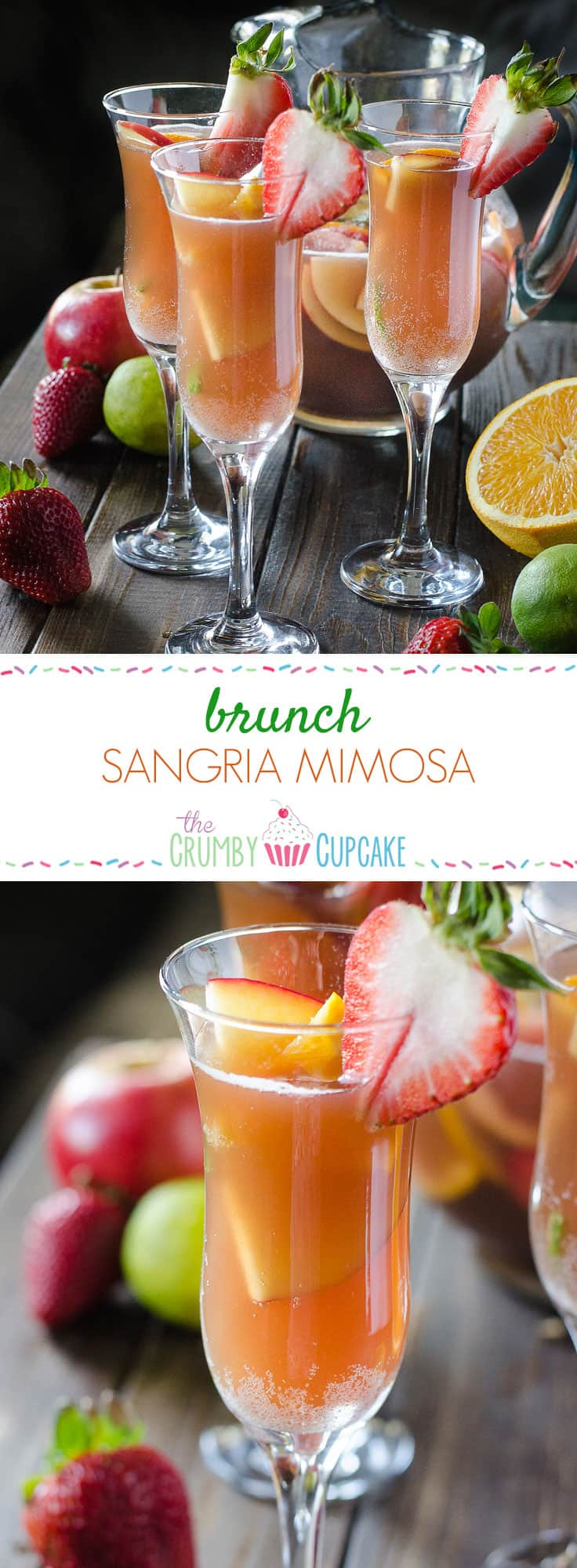 Brunch Sangria Mimosas  The Crumby Kitchen