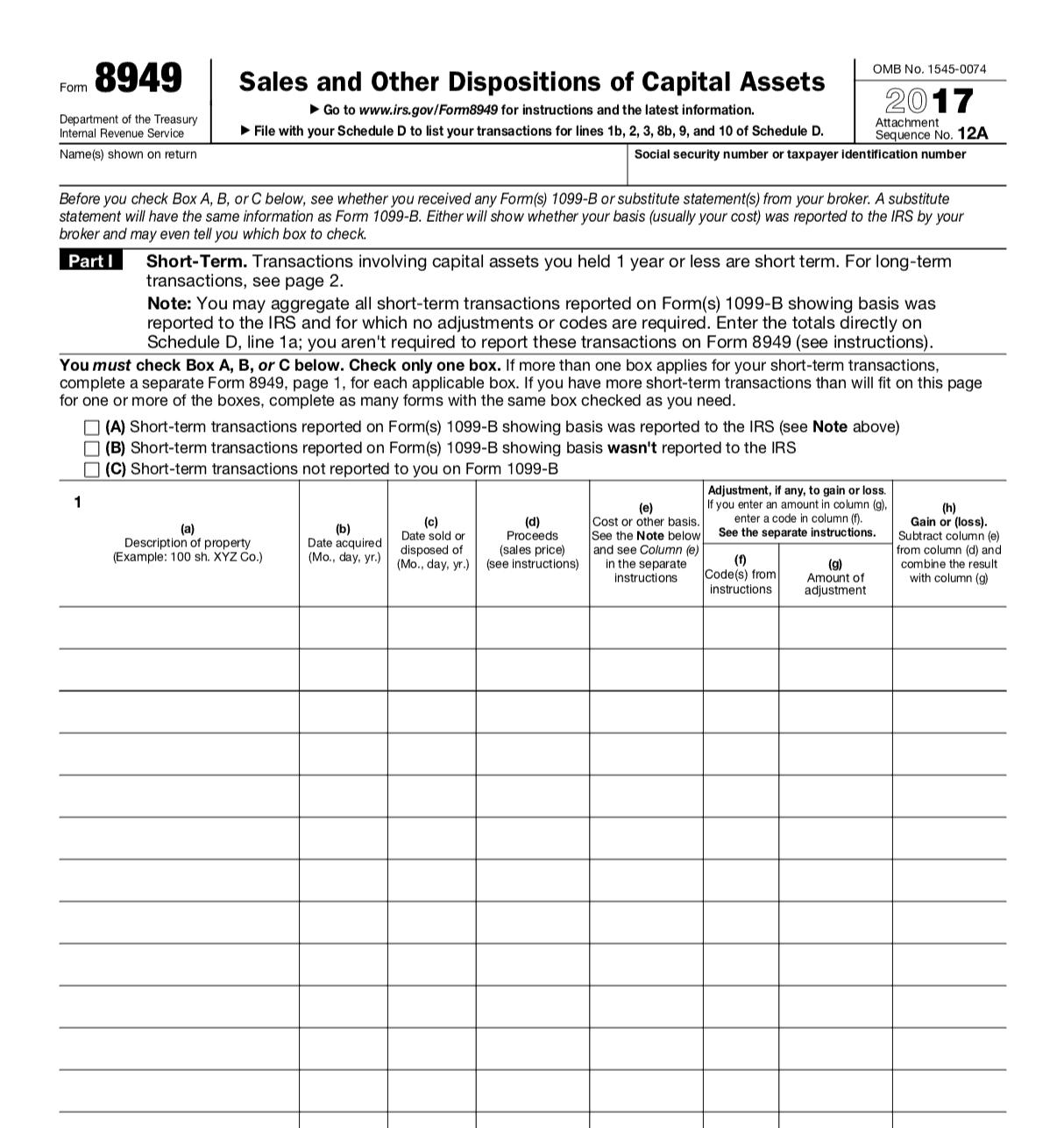 form 8949 2017 - Heart.impulsar.co
