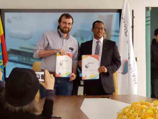 MOU signed by Ethiopia and Cryptocurrency start-up named Cardano