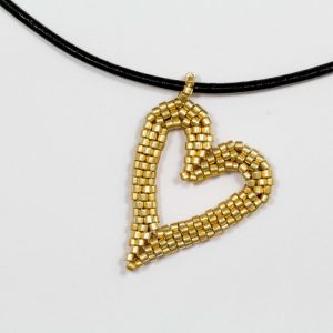 miyuki-gold-beaded-heart-pendant-with-leather-cord