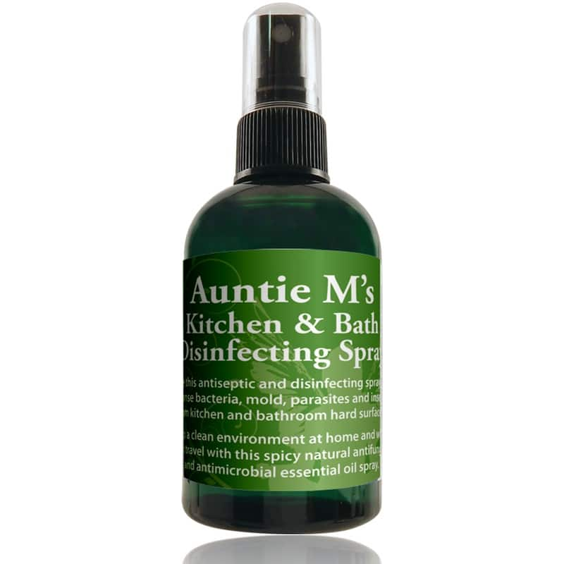 Auntie M\'s Kitchen and Bath Disinfecting Spray - Use to clean surfaces