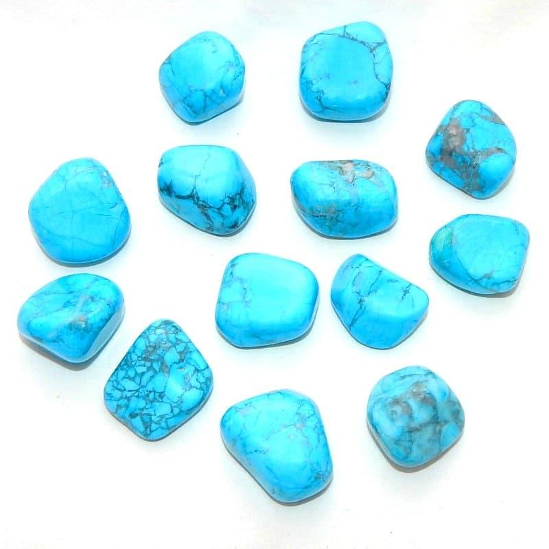Blue-Dyed Howlite