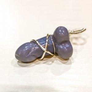 Blue Aventurine Penis Pendant