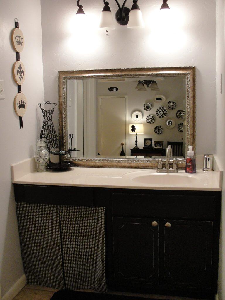 Amandas Distressed Bathroom Cabinet Tutorial  The CSI