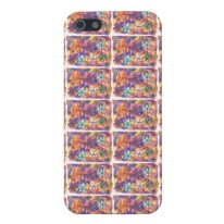 Hippie Flowers iPhone case available in my Zazzle store