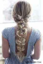 gorgeous wedding braid hairstyles