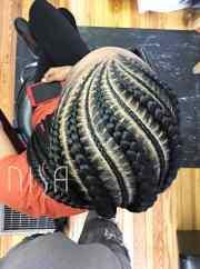 natural goddess braids bless