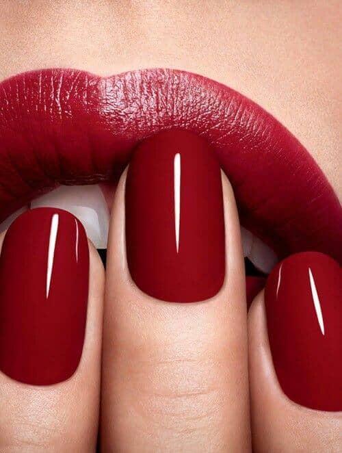Blood Red Nailpolish : blood, nailpolish, Blood, Polish, Manicure, Trends