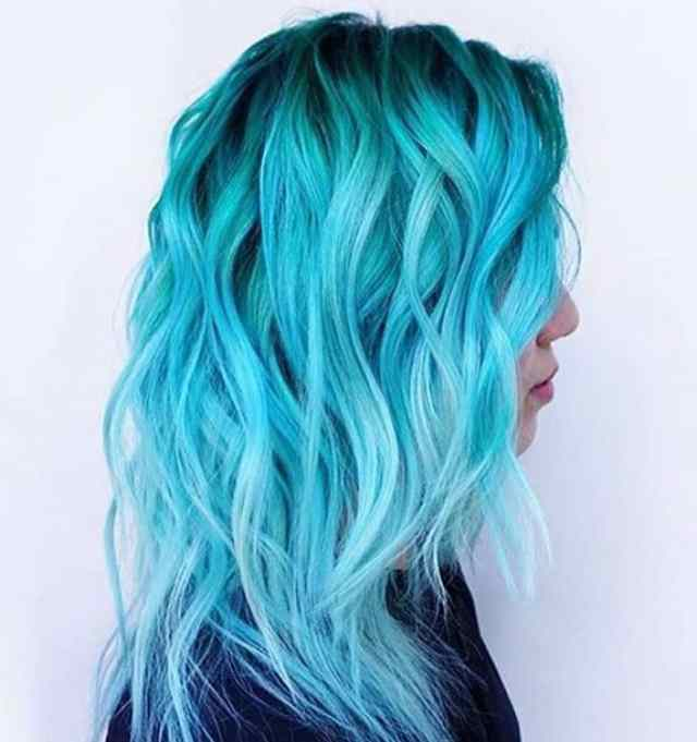 50 fun blue hair ideas to become more adventurous in 2019