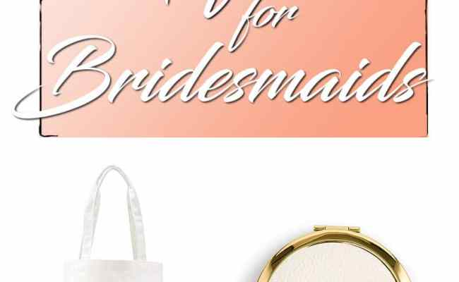 50 Best And Inspiring Bridesmaid Gifts To Make Your Ladies