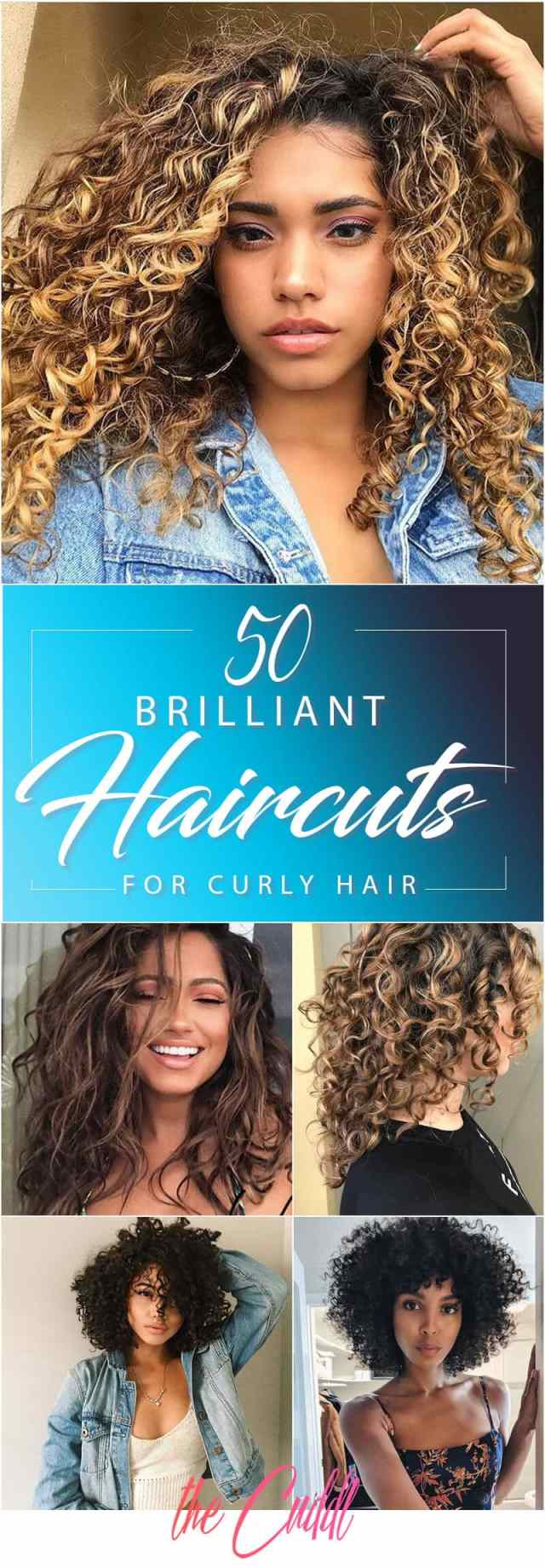 50 brilliant haircuts for curly hairstyle 2019 (art, design