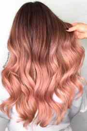 irresistible rose gold hair