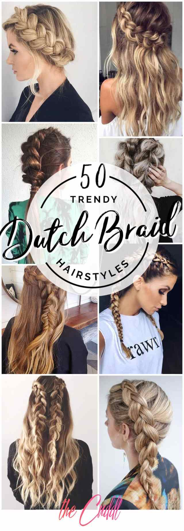 50 trendy dutch braids hairstyle ideas to keep you cool in 2019
