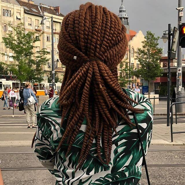 50 Beautiful Ways To Wear Twist Braids For All Hair Textures For 2020