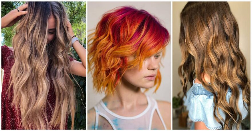 50 vibrant fall hair