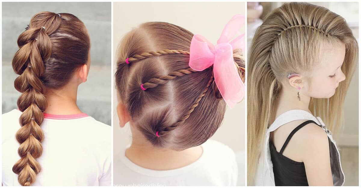 50 Pretty Perfect Cute Hairstyles For Little Girls To Show Off