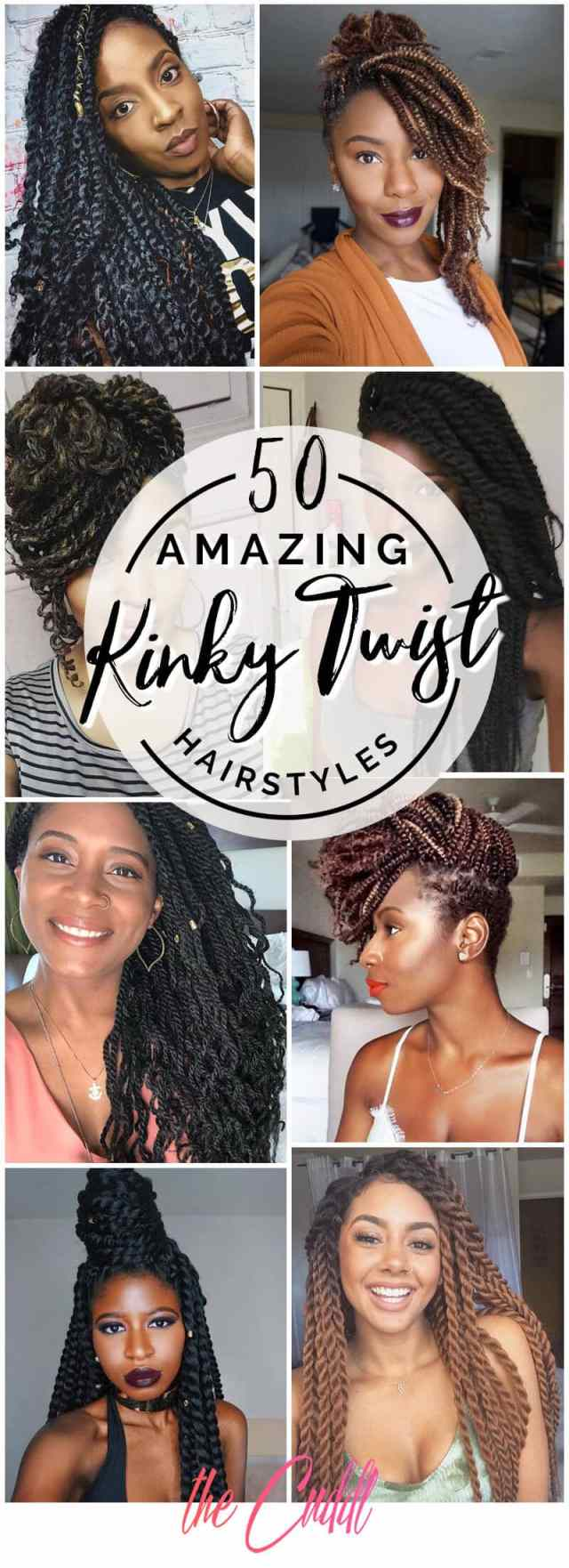 50 amazing kinky twist hairtyle ideas you can't live without