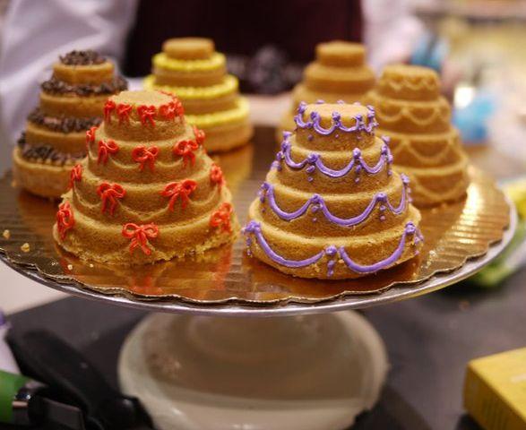 Fun Wedding Favor Two Tier Mini Oreo Cakes