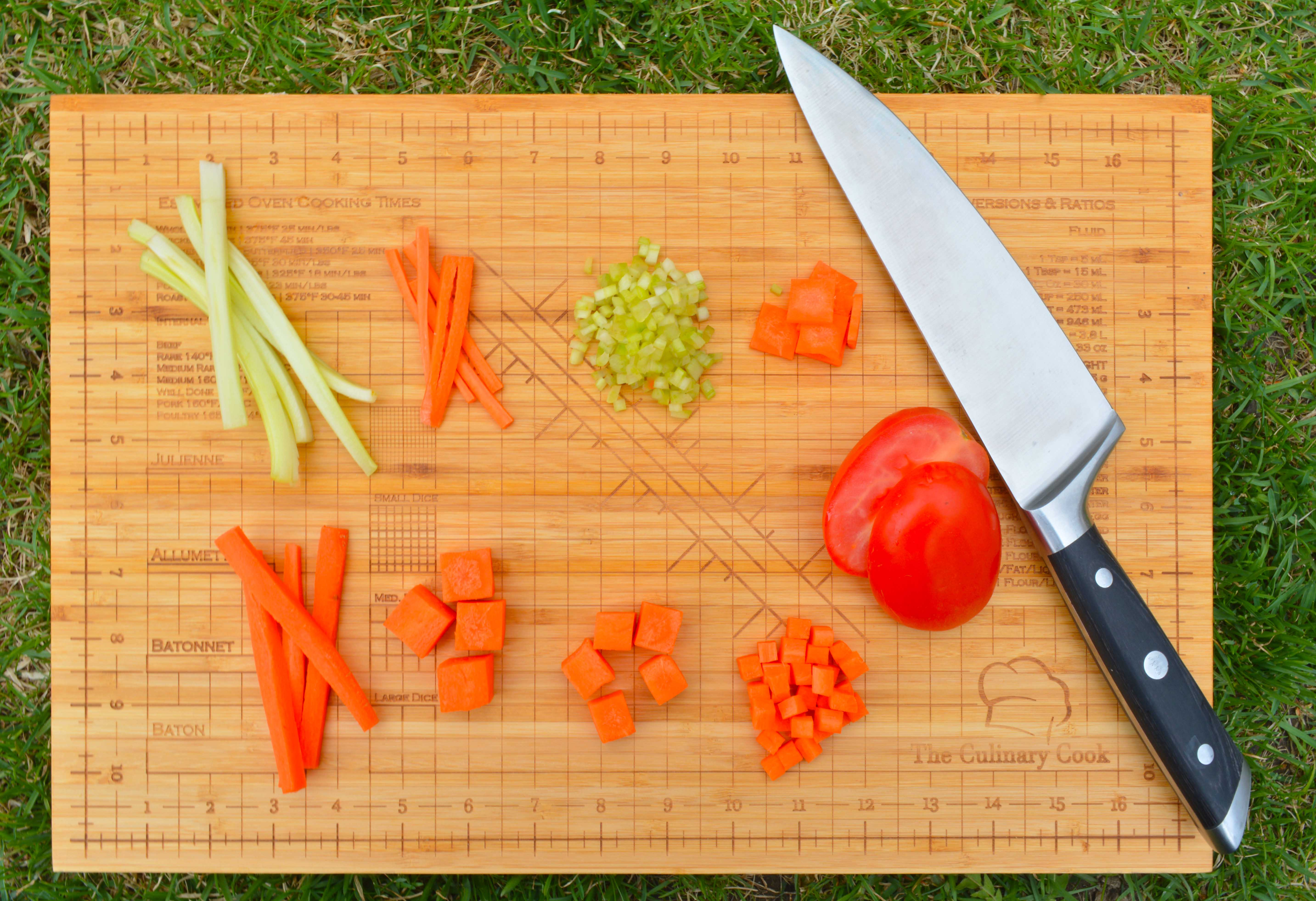 Knife Cuts and the Different Types of Cuts - TheCulinaryCook com