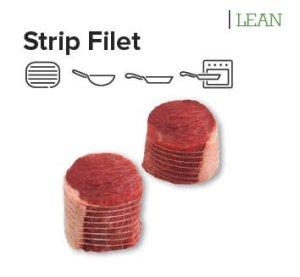 strip filet steak