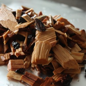smoked meat wood chips