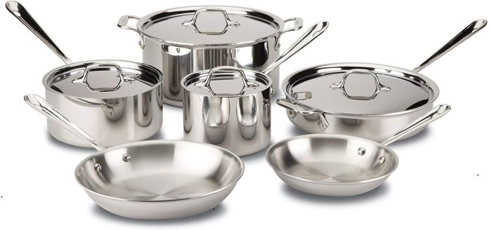 all clad best cookware set