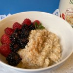 Recipe for Creamy Fermented Breakfast Oats by Kristen Coffield