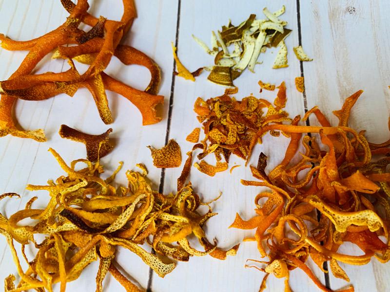 Dried Citrus Peel Recipe