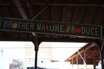 Brother Nature Produce working with Mother Nature