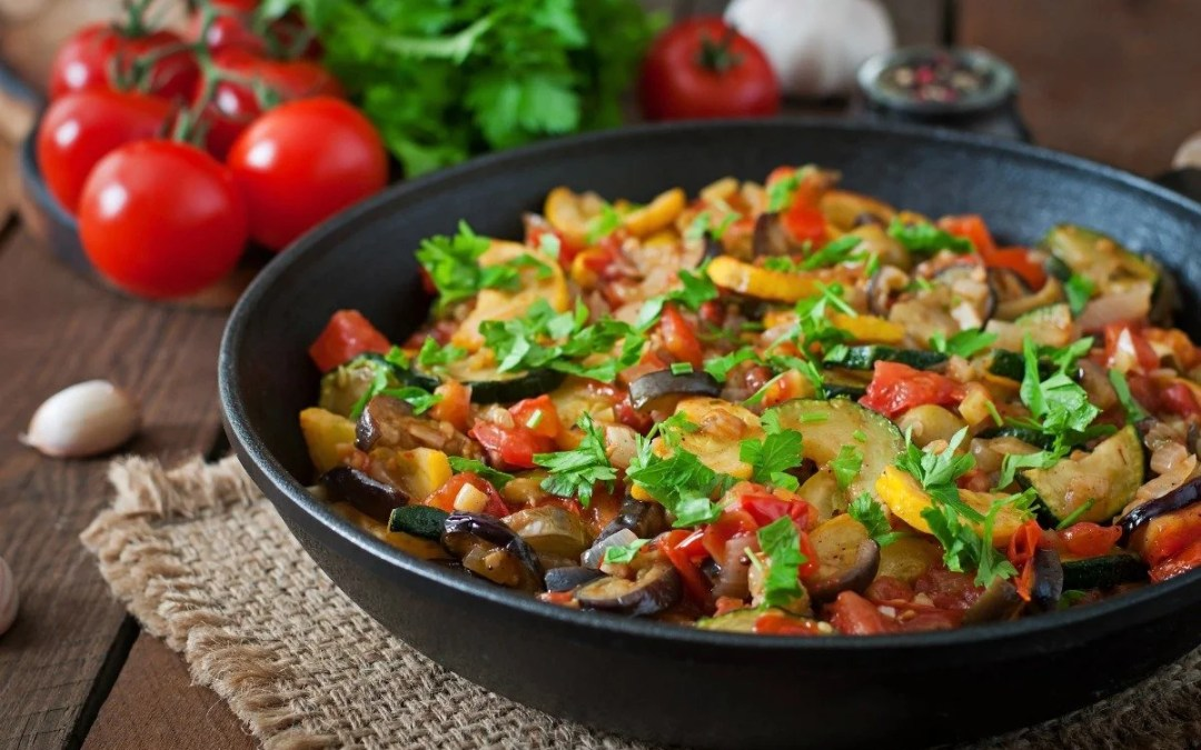 Julia Child's Recipe for Ratatouille