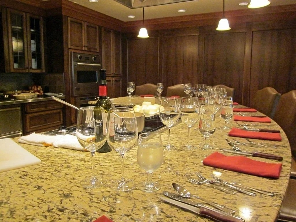 Cooking classes at Hester Creek