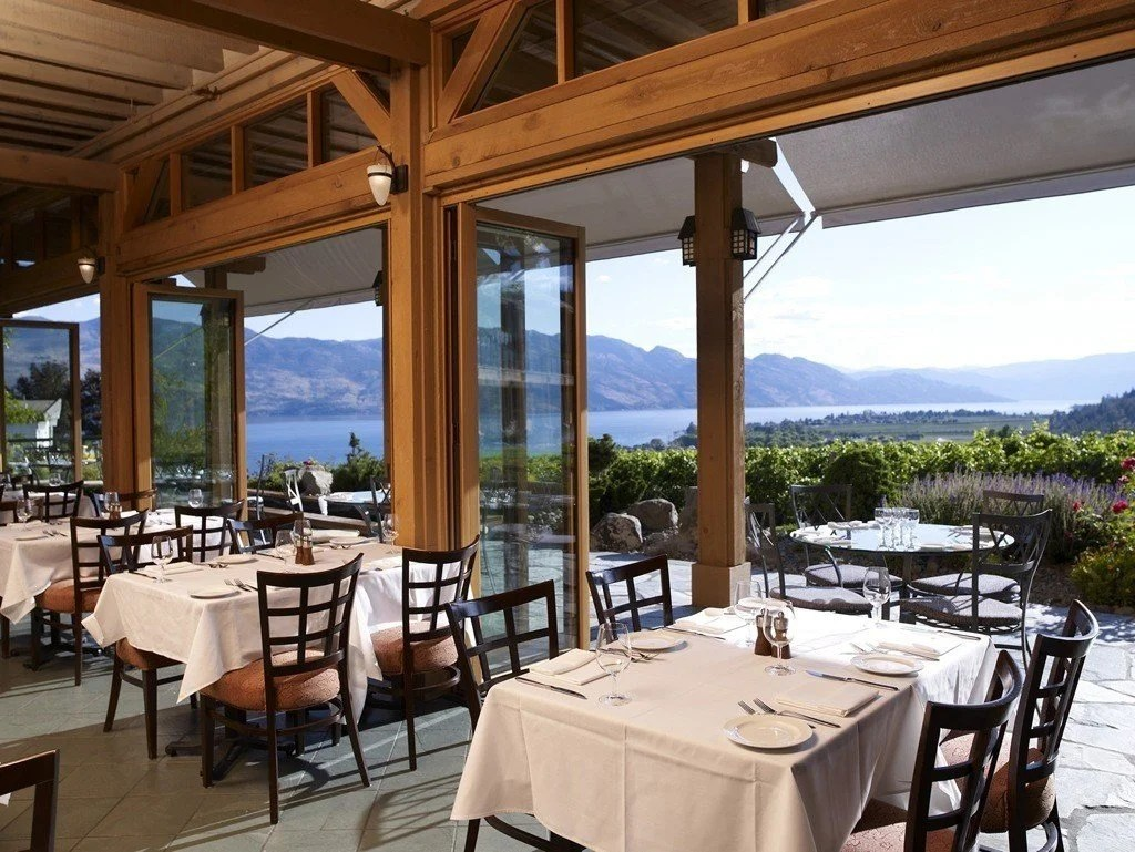 Old Vines Restaurant at Quail's Gate Winery | Photo Credit TourismKelowna.com