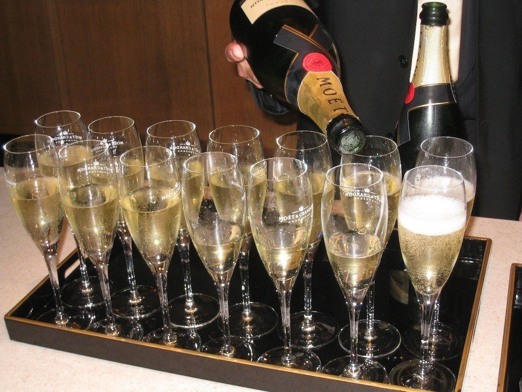 Moet Champagne (photo by Food Travelist)
