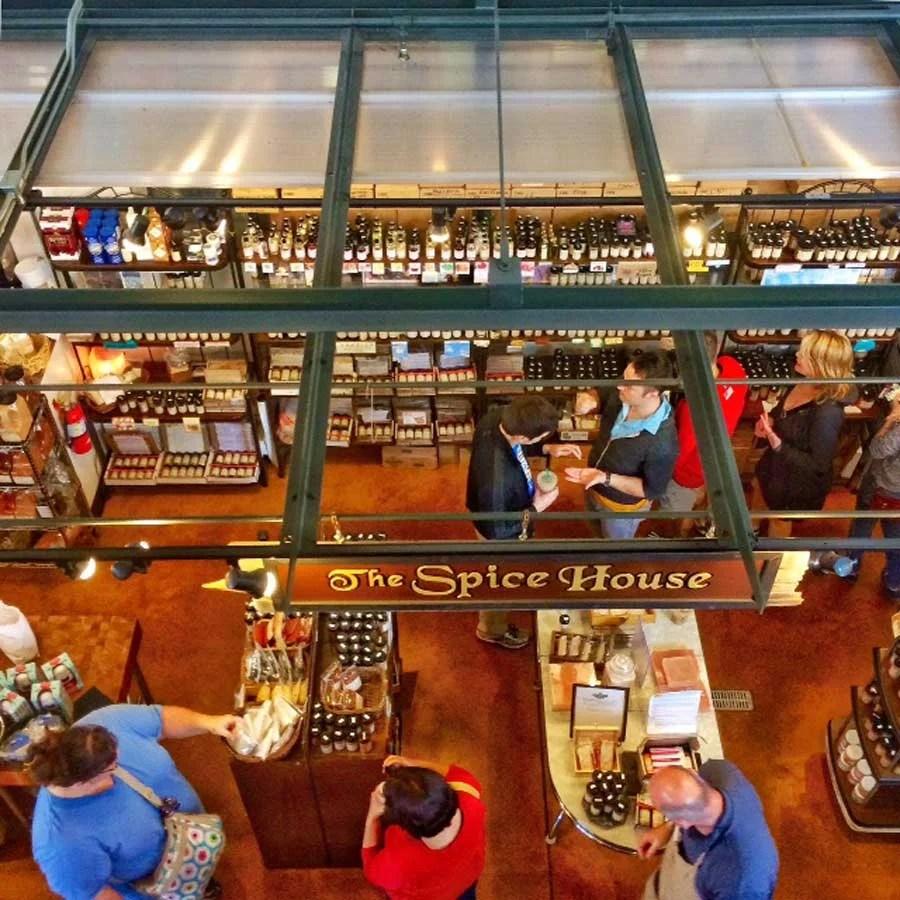 The Spice House, Milwaukee Public Market | TheCulinaryTravelGuide.com