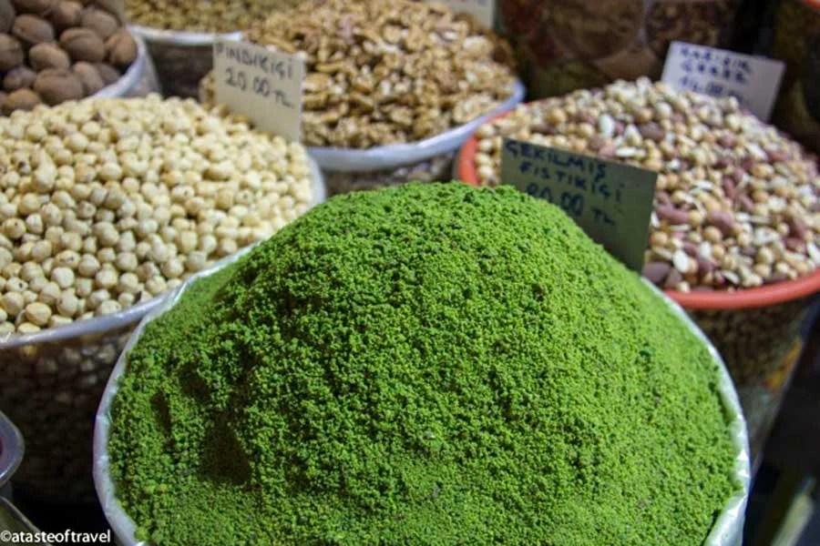 Ground pistachios, A Taste of Travel | TheCulinaryTravelGuide.com